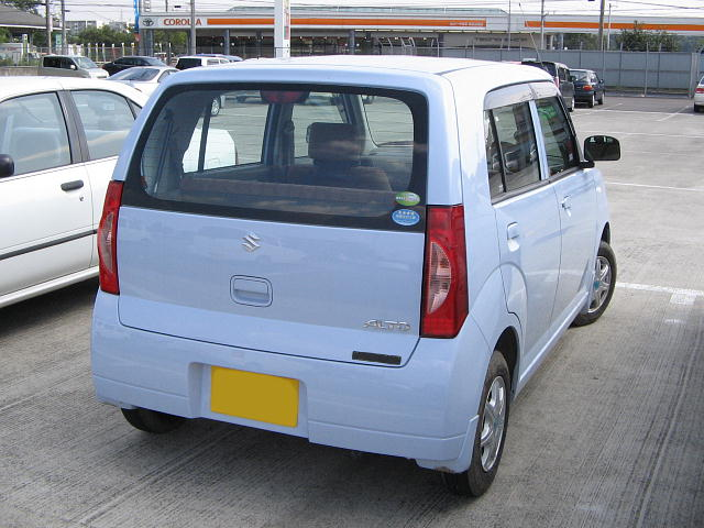 Suzuki Alto 2009 Exterior Rear End