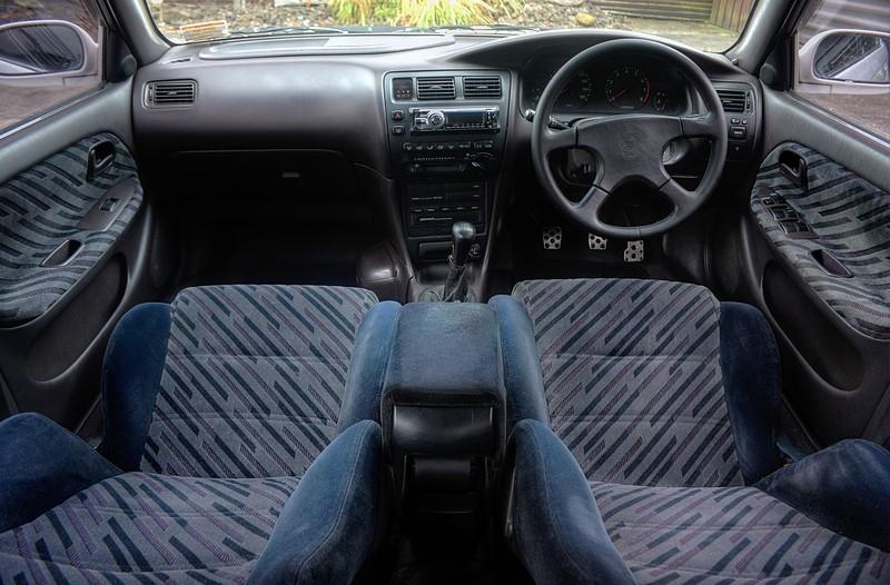 Toyota Corolla 2002 Interior Cabin
