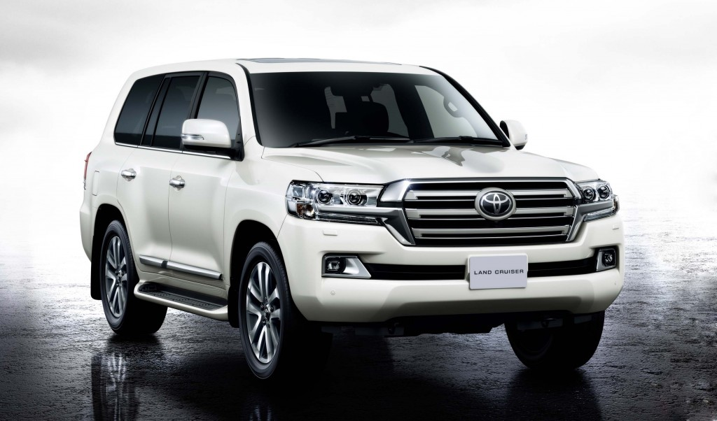 Toyota Land Cruiser 2019 Exterior Front End