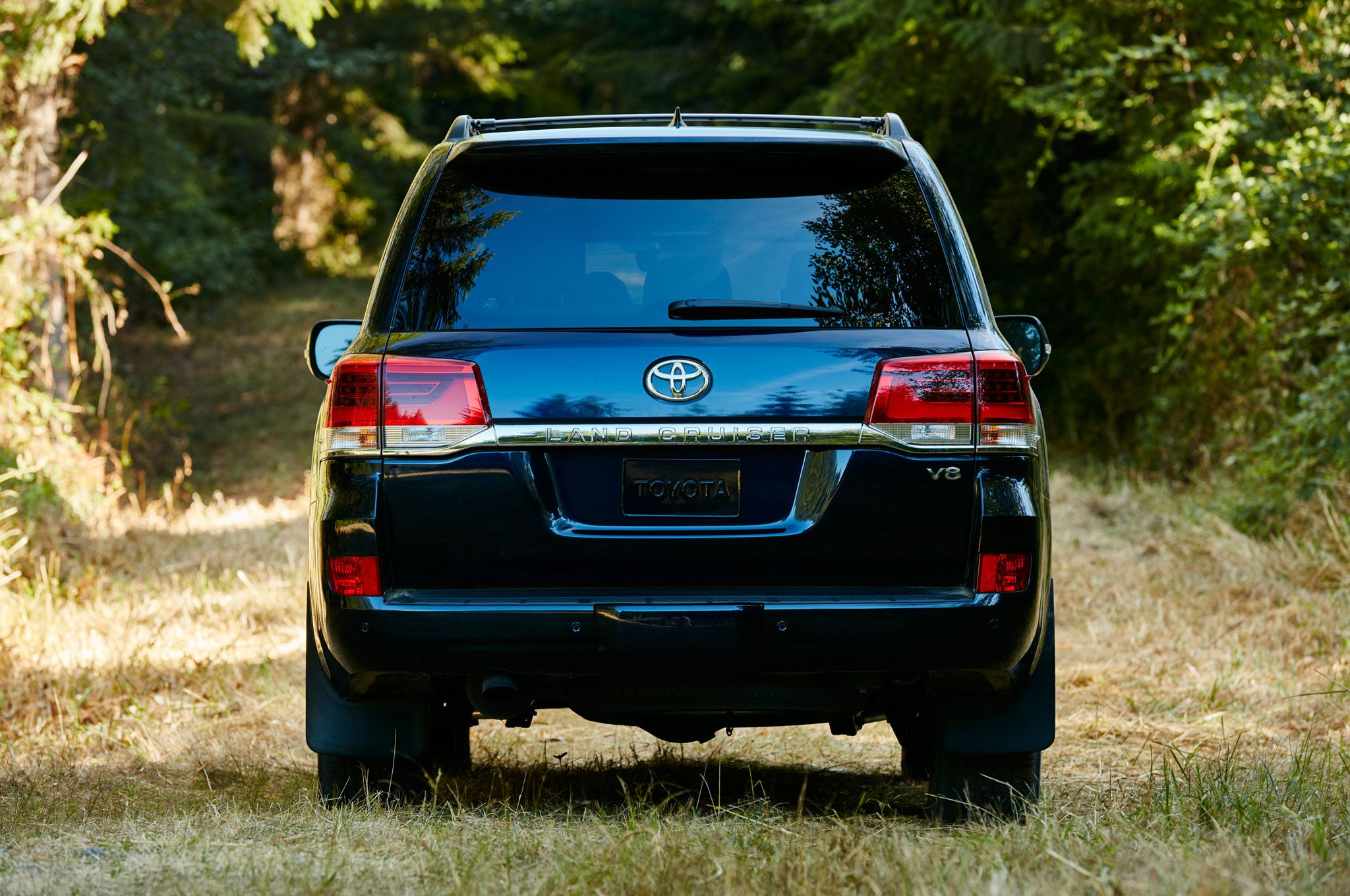 Toyota Land Cruiser 2020 Exterior Rear End