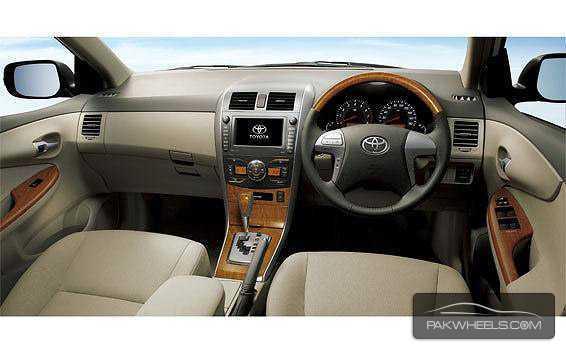 Toyota Corolla Axio 2012 Interior Dashboard