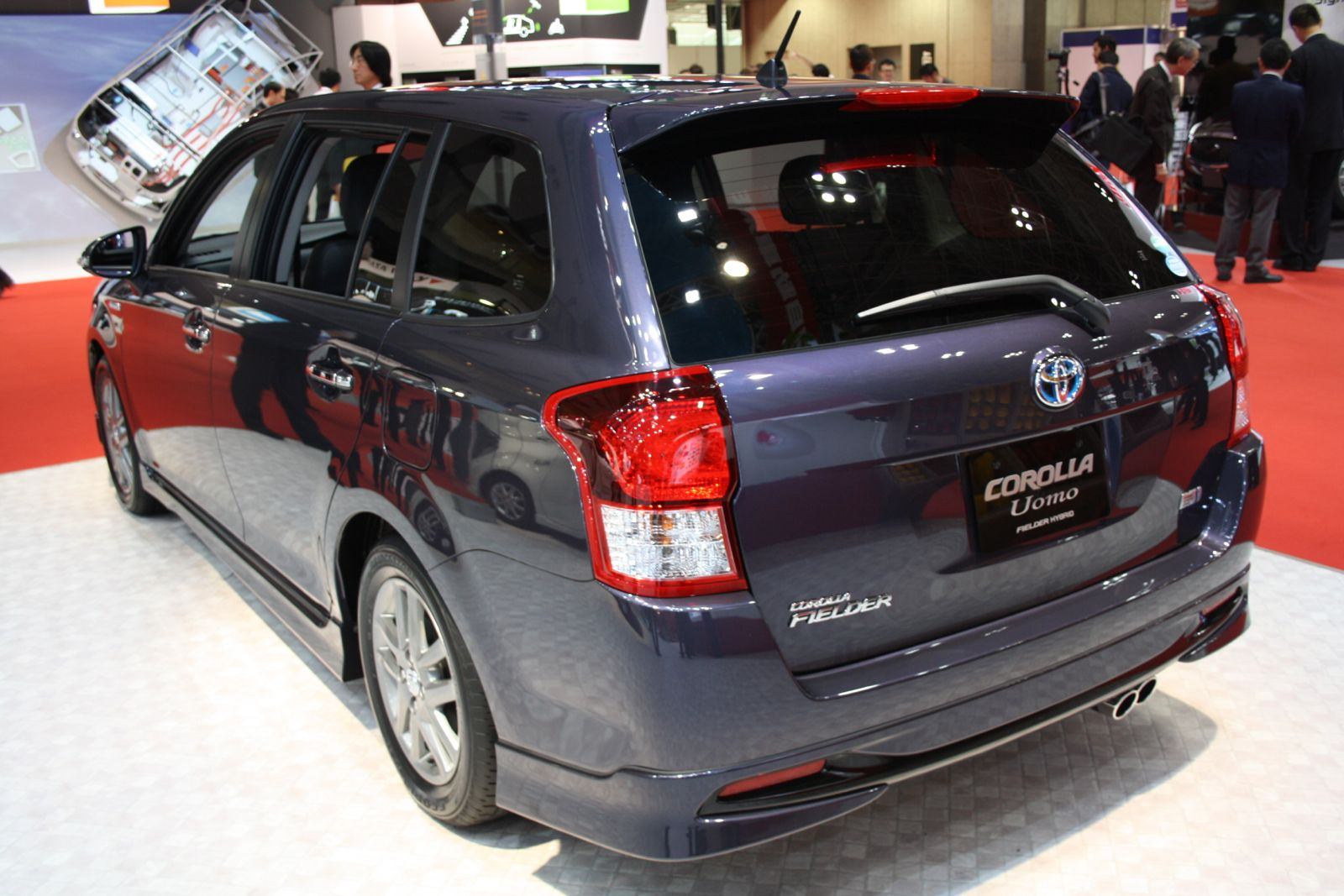 Toyota Corolla Fielder  Exterior Rear View