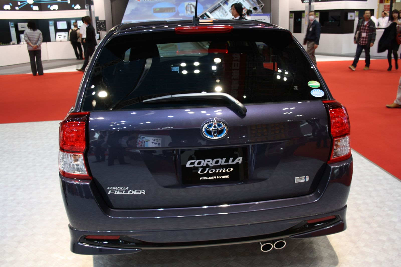 Toyota Corolla Fielder  Exterior Rear End