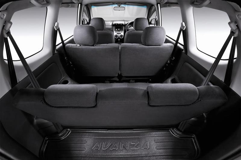 Toyota Avanza 2012 Interior Cabin
