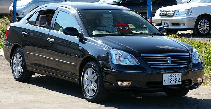 Toyota Premio 2007 Exterior Front Side View