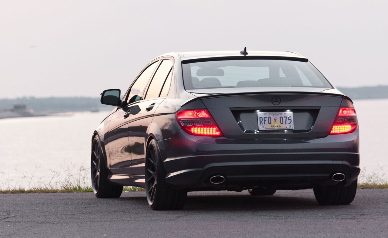 Mercedes Benz C Class 2014 Exterior Rear End