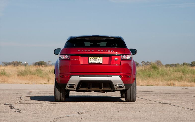 Range Rover Evoque  Exterior Rear End