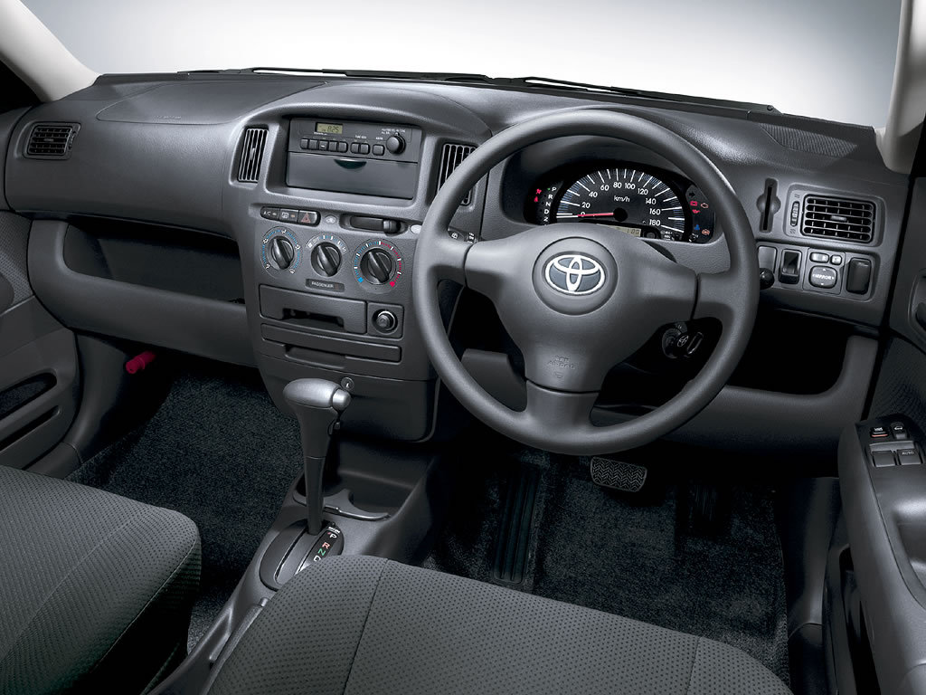 Toyota Probox  Interior Dashboard