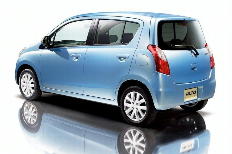Suzuki Alto 2014 Exterior Rear Side View