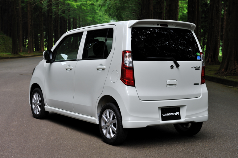 Suzuki Wagon R 2017 Exterior Rear End