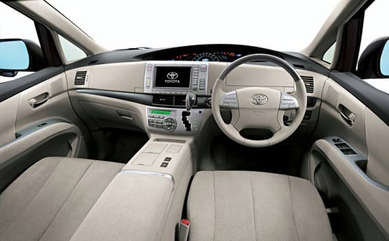 Toyota Estima  Interior Dashboard