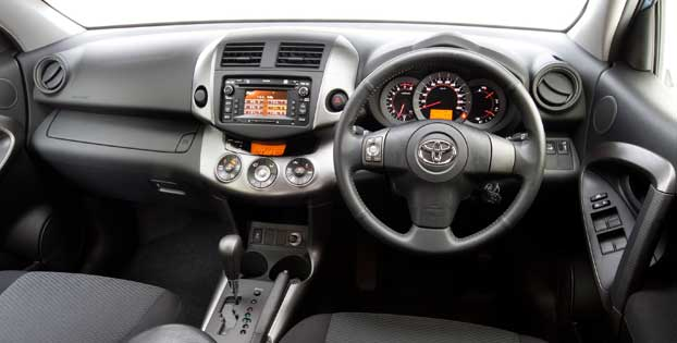 Toyota Rav4  Interior Dashboard