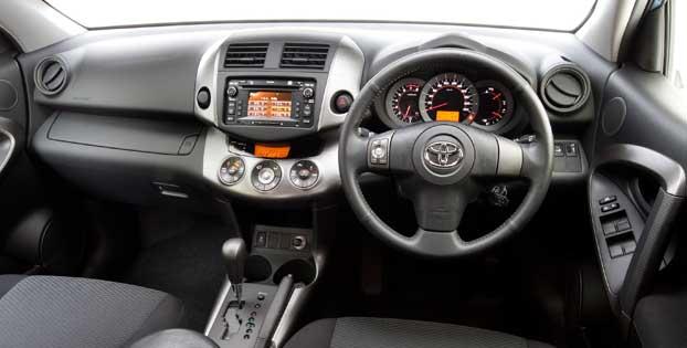Toyota Rav4 Interior Dashboard