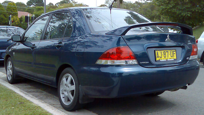 Mitsubishi Lancer 2008 Exterior Rear End