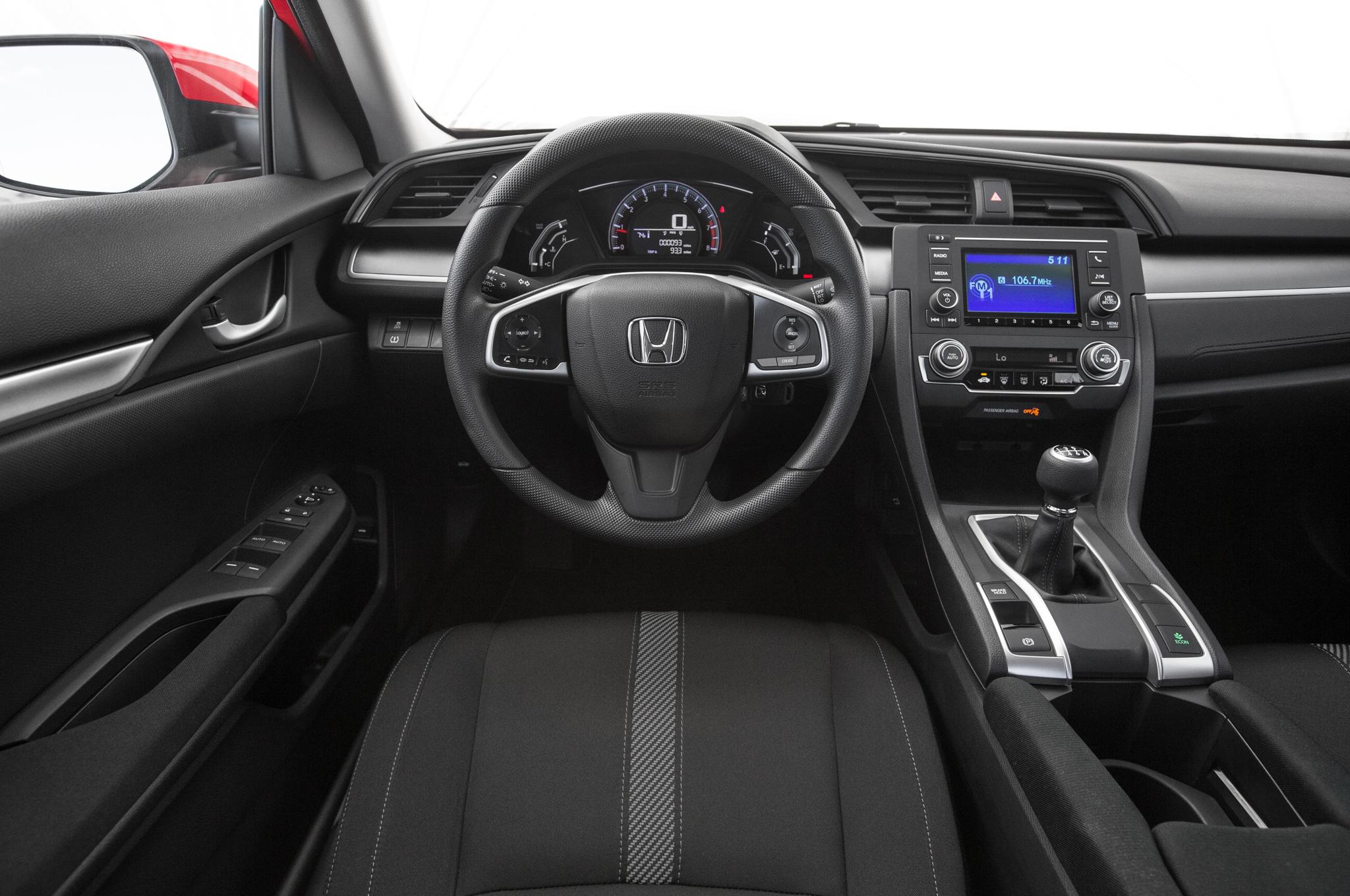 Honda Civic 2016 Interior