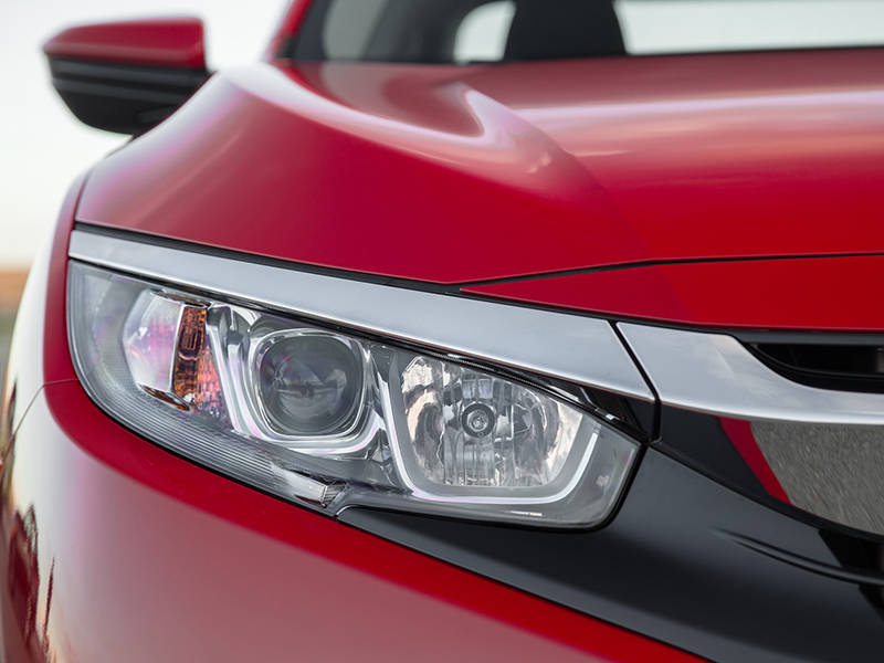 Honda Civic 2019 Exterior Head Lights