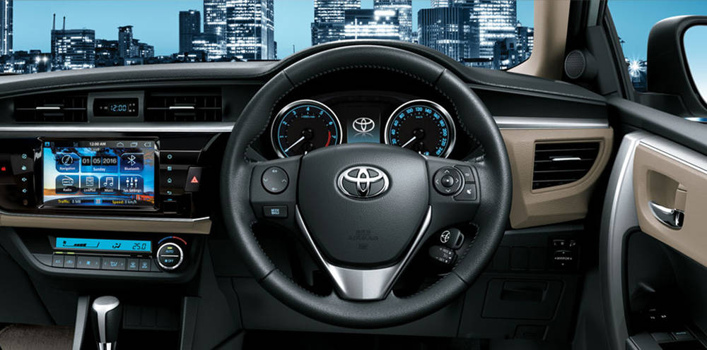 Toyota Corolla 2018 Interior Leather Stitched EPS and interior