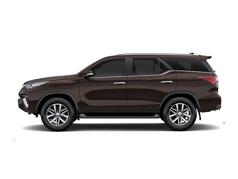 Toyota Fortuner 2020 Exterior Side View