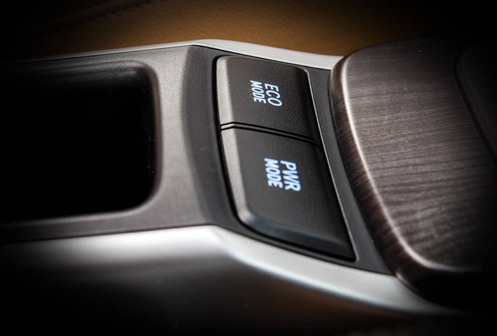Toyota Fortuner 2020 Interior Driving Mode button