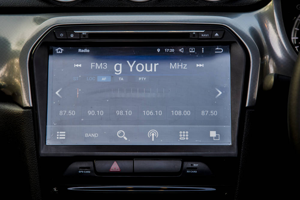 Suzuki Vitara 2020 Interior infotainment system