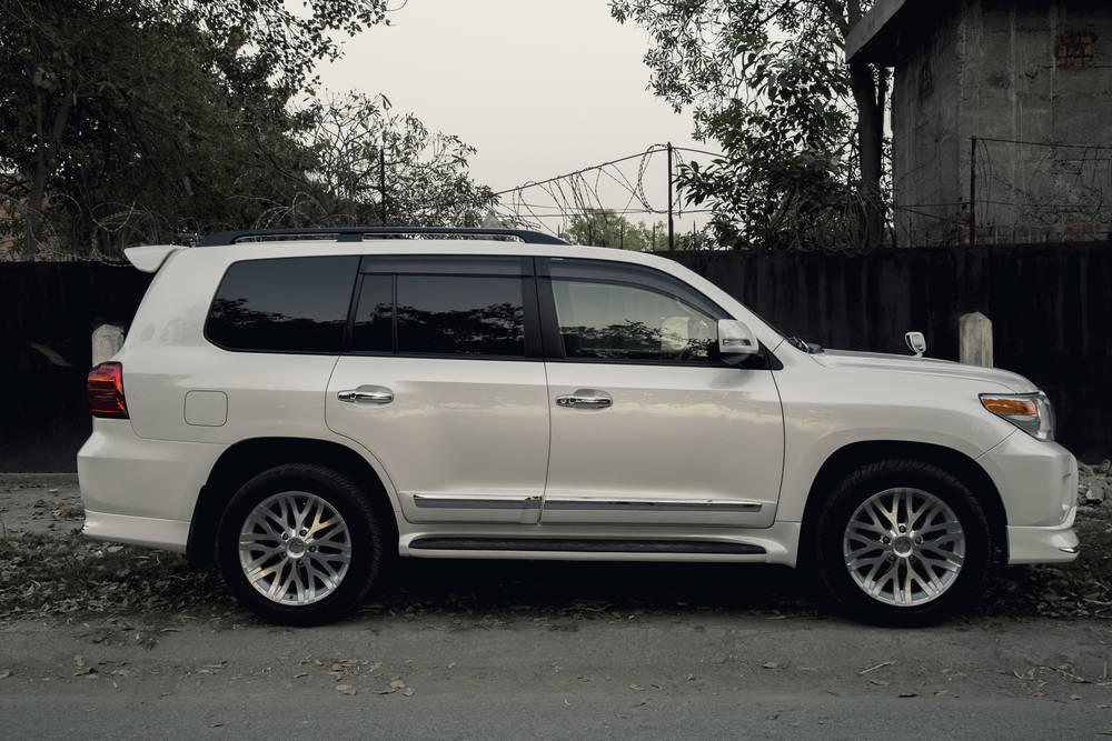 Toyota Land Cruiser 2018 Exterior Side View