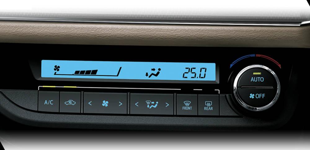 Toyota Corolla 2020 Interior Auto A/C