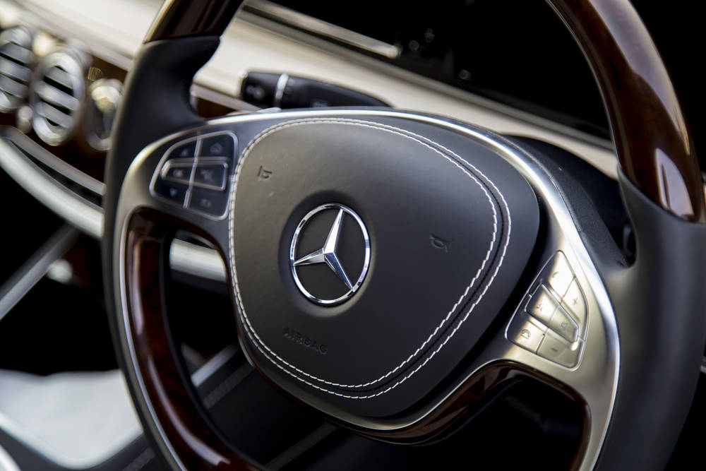 Mercedes Benz S Class 2020 Interior Steering