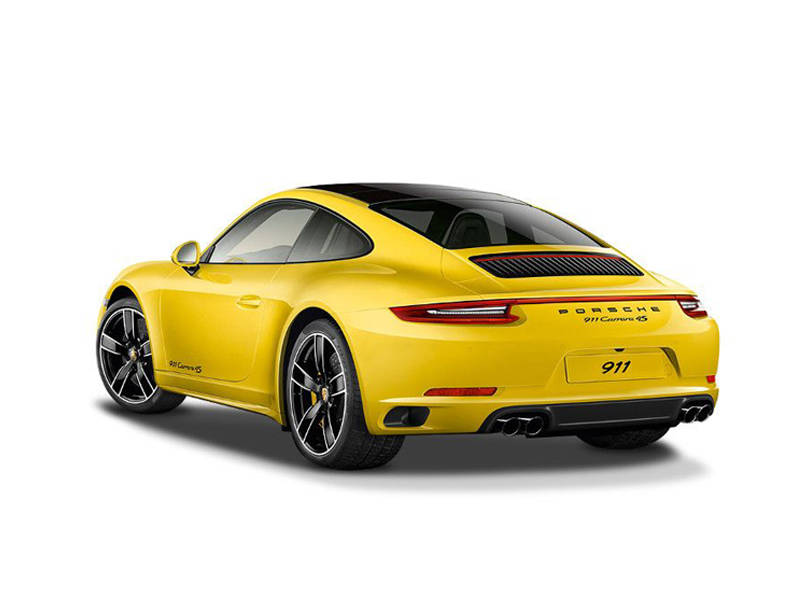 Porsche 911 2018 Exterior Rear View