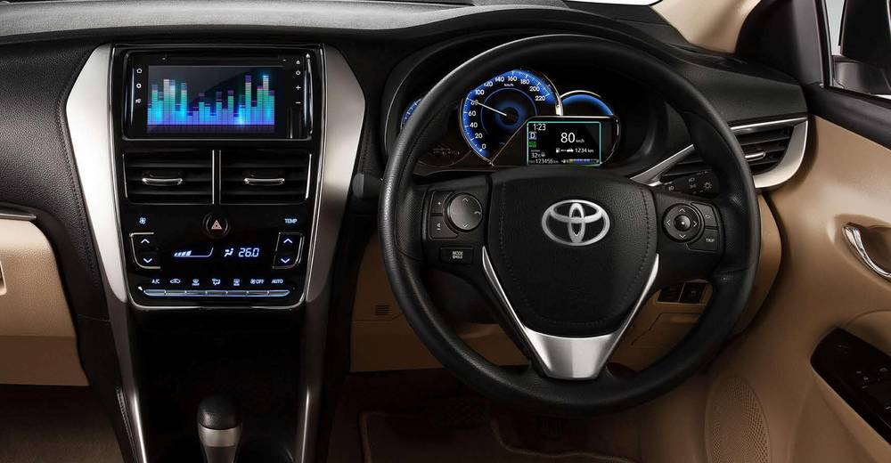 Toyota Yaris 2020 Interior