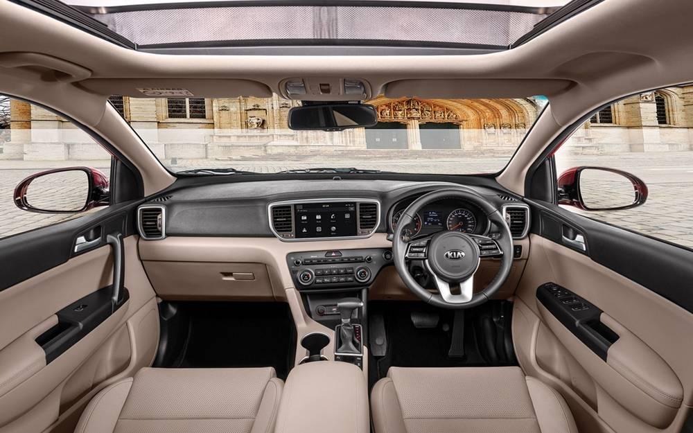 KIA Sportage 2020 Interior