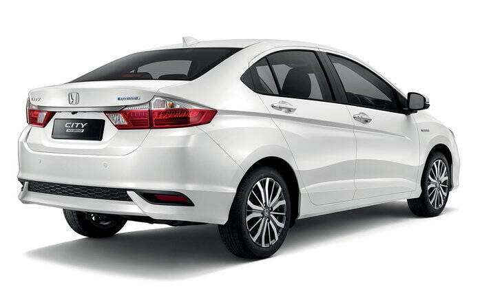 Honda City  Exterior Rear View