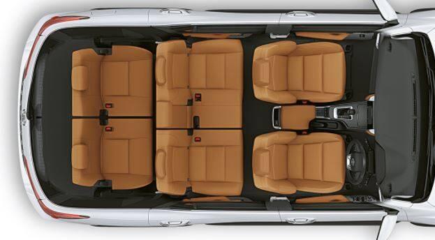 Toyota Fortuner Exterior 7 seat capacity