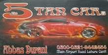 5 Tan Cars