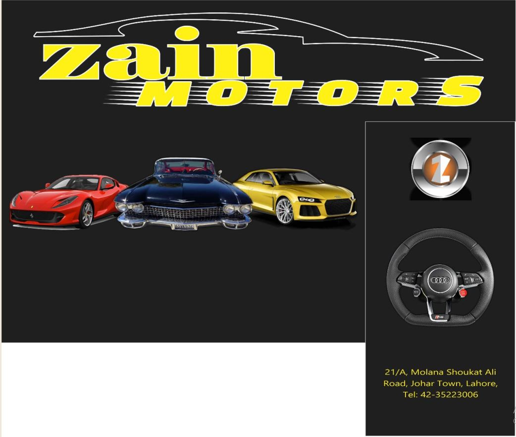 Zain Motors Used Car Dealer In Lahore