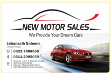 New Motor Sales - M.A Jinnah Road