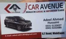 Car Avenue Taxila